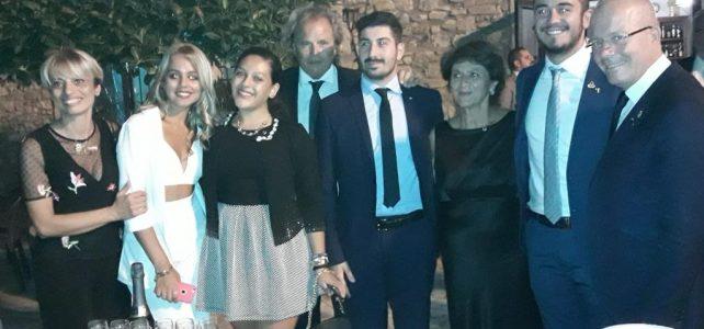 San Lucido (CS), Prima Charter Night del Leo Club Tirrenum Guardia Piemontese